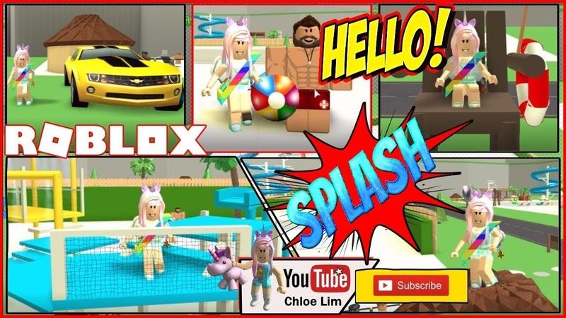 🌊 Roblox Waterpark Tycoon Gameplay! Having FUN in my Waterpark Tycoon! LOUD WARNING!