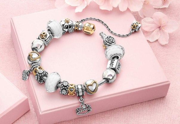 браслеты pandora charm