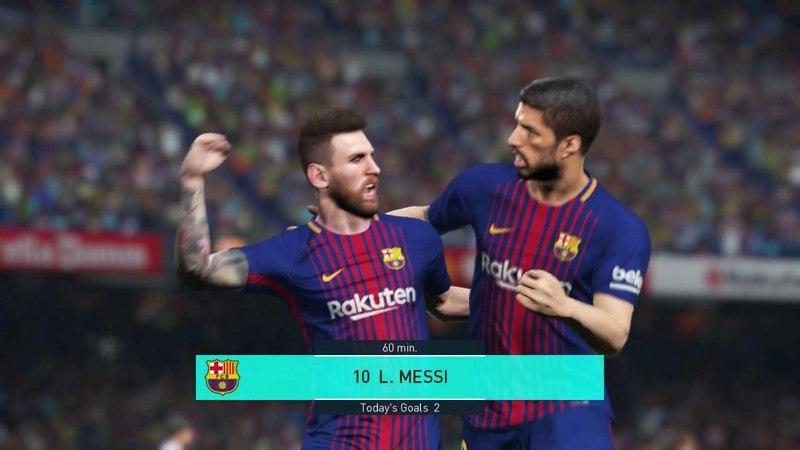 Barcelona vs Germany Full Match Goals 2018 PES 2018 Gameplay PC