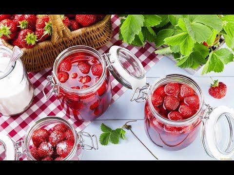 КЛУБНИЧНОЕ ВАРЕНЬЕ без варки ягод!