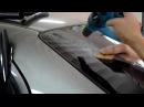 Тонировка заднего стекла автомобиля своими руками Видео инструкция