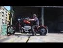 RIPS Racing twin turbo V8 chopper skid
