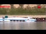 Авария теплохода на реке Иртыш Омская обл  глазами свидетелей август 20013