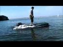 Аквилон Aquilon - надувная моторная лодка ПВХ с дном низкого давления НДНД 071
