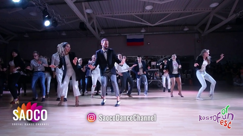 Salsa On2 Bootcamp by Samuel Sophia at the Rostov For Fun Fest 2018