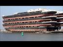 Üstünde 13 tane gemi taşıyan Dünyanın En Büyük Yük Taşıma Gemisi - Blue Marlin