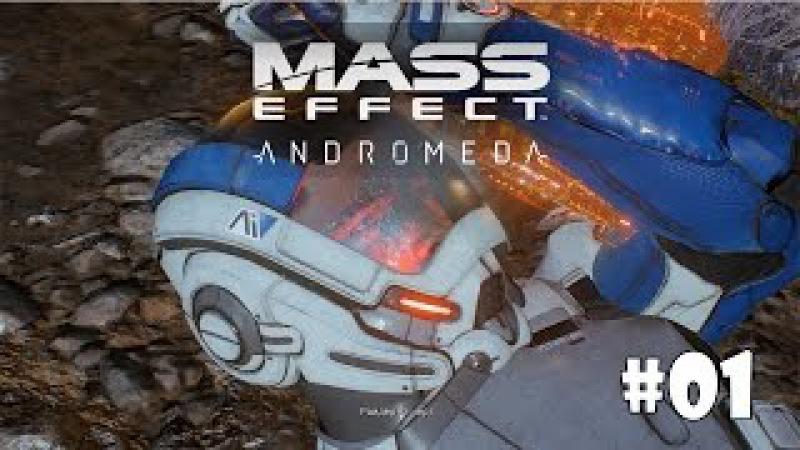 Mass Effect: Andromeda (Подробное прохождение) 1 - Пробуждение