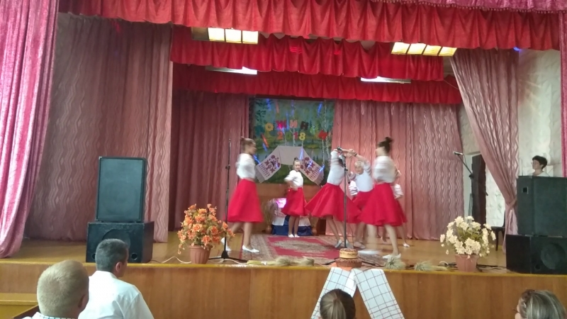 Танец белая косыночка