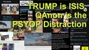 WAKE UP Trump is Offshoot ISIS QAnon The Psyop Conspiritainment Distraction ErikPrinceTrump Hoax