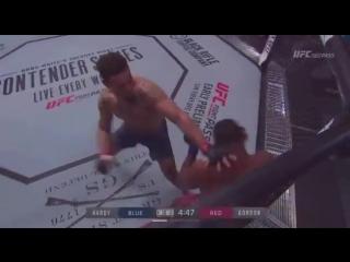 #DWTNCS results: Greg Hardy def. Tebaris Gordon via TKO (strikes) at :17 of R1