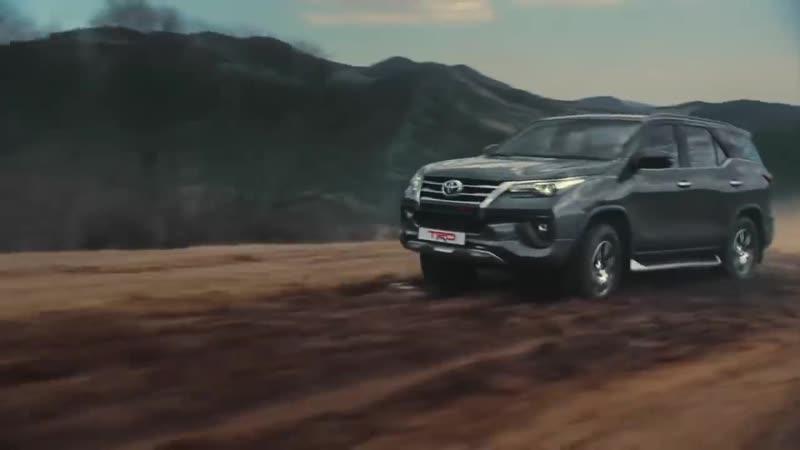 Toyota Fortuner в специальной серии TRD испытай это САМ!