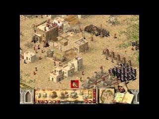 Прохождение игры Stronghold Crusaders GMB mod 4.1 (6 миссия ) 2 часть