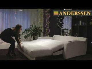 как собрать и разобрать диван аккордеон фабрики мебели Андерссен