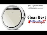 ILIFE V5 Intelligent Robotic Vacuum Cleaner - Gearbest Review