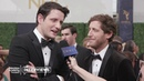 Zach Woods and Thomas Middleditch ( Silicon Valley ) on the 2018 Primetime Emmys Red Carpet