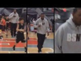 Third Grade Basketball Coach Loses It, Punches Spectator