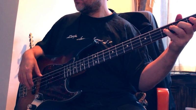 Damned For All Time, Jesus Christ Superstar Alan Spenner Bass cover Fender Jazz Bass 1962 AVRI