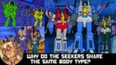 Why do the Seekers look alike? [Guest Starring Comodin Cam Last Prime Speculator]