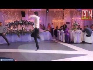 ქართველების ცეკვა ჩეჩნურ ქორწილში Georgians (Chechen wedding)