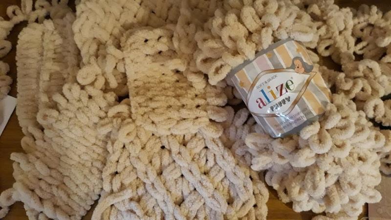 7 УЗОРОВ из пряжи Alize puffy. 7 patterns of yarn Alize puffy.