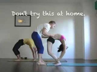 Back bending at Red Door Yoga
