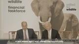 Герцог Кембриджский и Лорд Хейг Ричмондский на заседании рабочей группы United for Wildlife