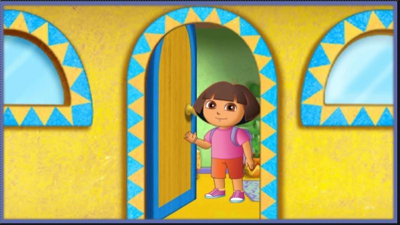 Даша Путешественница Дом Даши: Даша приглашает в гости домой