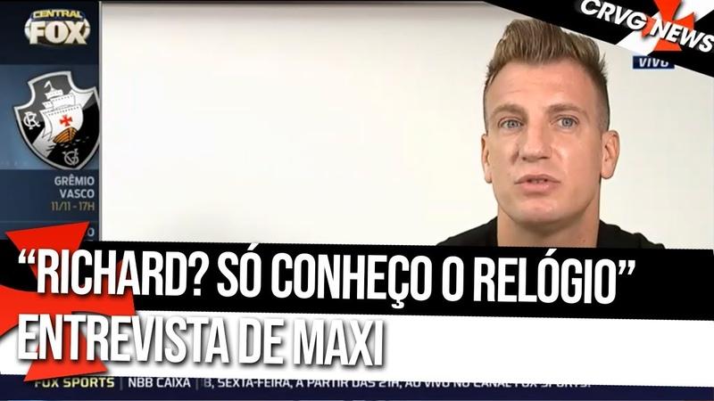 MAXI LÓPEZ RESPONDE DECLARAÇÕES DE JOGADOR DO FLUMINENSE - 0811