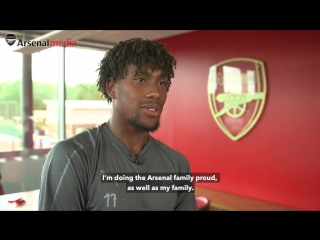 Alex Iwobi has signed a new long-term contract