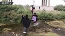 Migrantes intentan cruzar Río Bravo y los controles fronterizos en búsqueda del 'sueño americano'