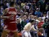 NBA Moment - 1989 Jordan hits the tough shot over Ehlo
