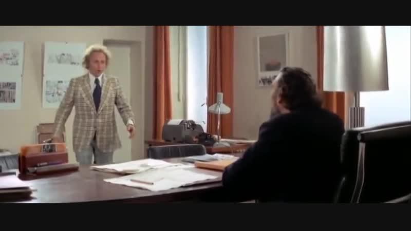 История Ленфильма 1974 год Он начинает сердиться, или горчица бьёт в нос (дубляж
