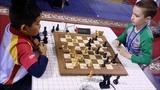 Cherniaiev (8 YO) vs Dang Anh Minh World RAPID Round 9