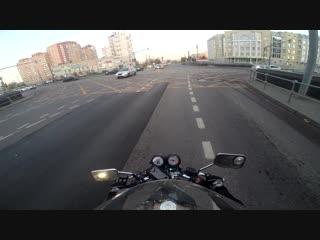 Moto crash sud