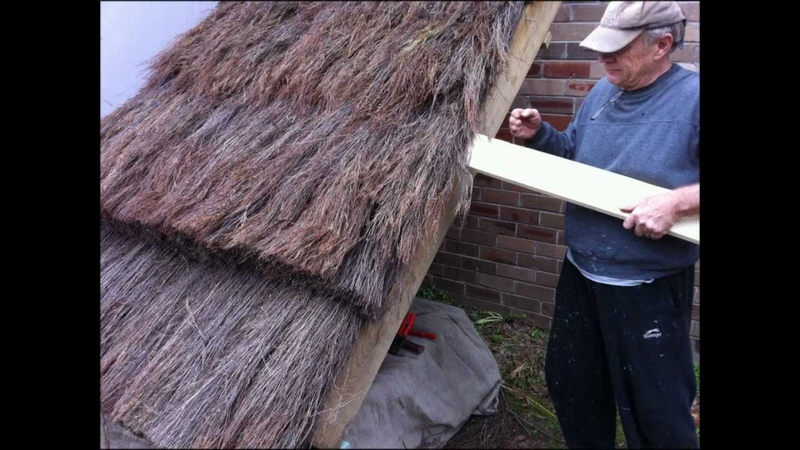 How To Build A Thatch Roof UK European style