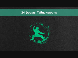 24 формы тайцзицюань