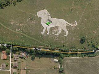 Тайные места в Google Maps. Сохраняем у себя на стене.