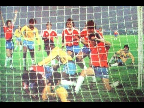 Eliminatorias Copa Mundial Italia 1990 - Chile vs. Brasil (Completo, 13 de agosto de 1989)