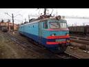 Красавец электровоз ВЛ10 1488 заезжает в депо