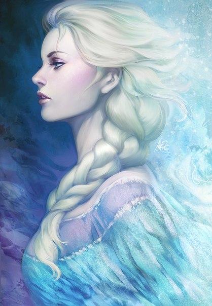 Игра Холодное Сердце уборка с Эльзой
