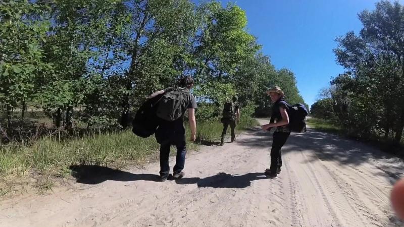 Бродим по болотам в ЧЗО