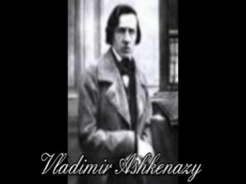 Шопен Тарантелла Вл. Ашкенази. CHOPIN Tarantella in LabM - Vladimir Ashkenazy