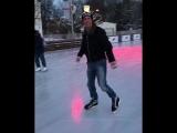 Панин на коньках