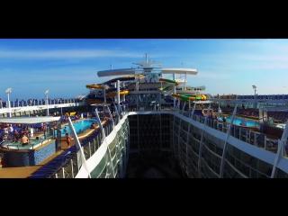 Инаугурационный круиз самого большого в мире корабля