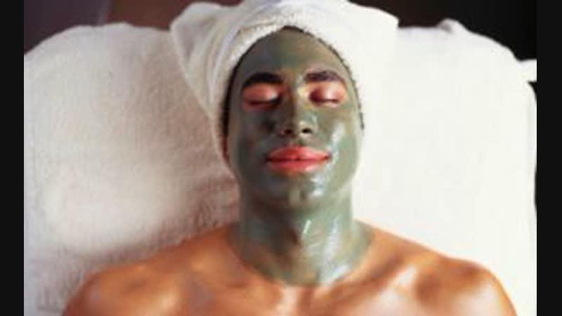 Уход за мужской кожей лица Маска с микротоками