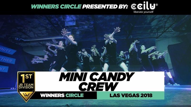 Mini Candy Crew | 1st Place Jr Team | Winners Circle | World of Dance Las Vegas 2018 | WODVEGAS18