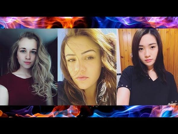Три классные cover-исполнительницы,с хорошими голосами,которые скоро станут популярны
