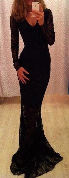 фото красивые платья с рукавом классические