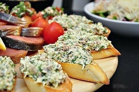 10 рецептов очень вкусных бутербродов