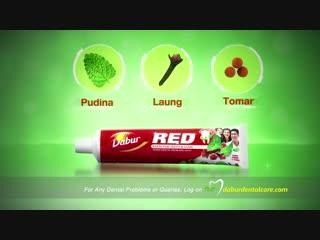 Зубная паста ред дабур dabur red paste - best toothpaste for dental problems